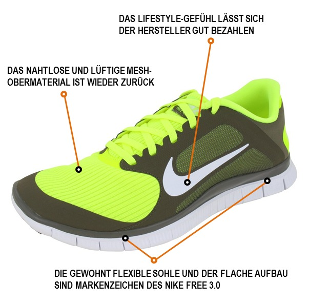 Nike Free 3.0 v5 Test
