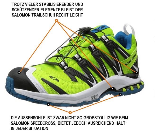 best selling retail prices online retailer Salomon XA Pro 3D Ultra 2 GTX im Test - joggies