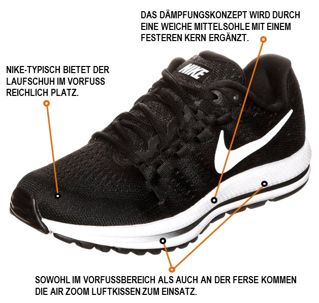 Royaume-Uni disponibilité e492f 327c0 Nike Air Zoom Vomero 12 im Test - joggies