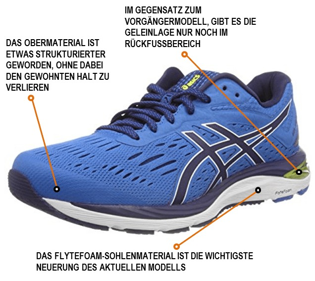 save off b1d10 61fbc Asics Cumulus 20 im Test - joggies